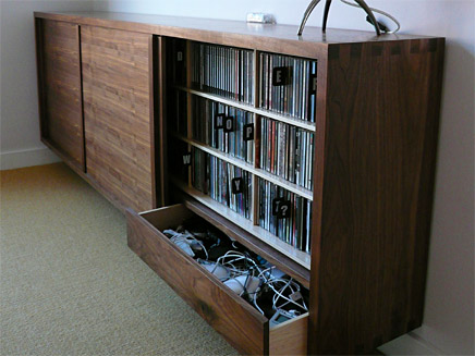 Sideboard CD Storage