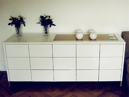 portfolio sideboard hifi unit. Black Bedroom Furniture Sets. Home Design Ideas